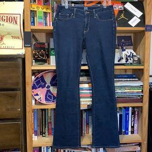 A.N.A.—women's dark wash slim stretch 'BOOTCUT' jeans